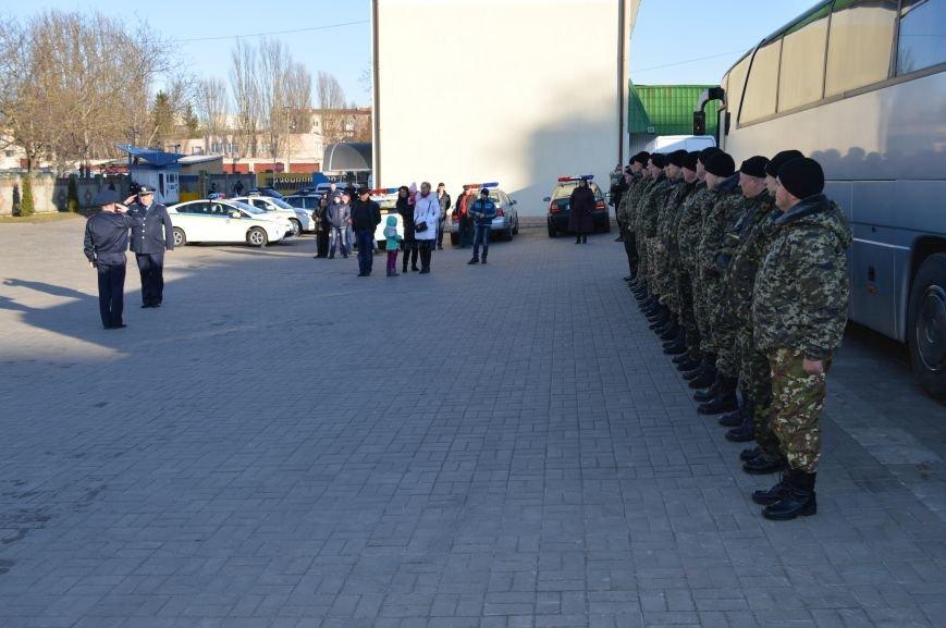 Рівненщина провела на схід України черговий загін працівників ДАІ, фото-1