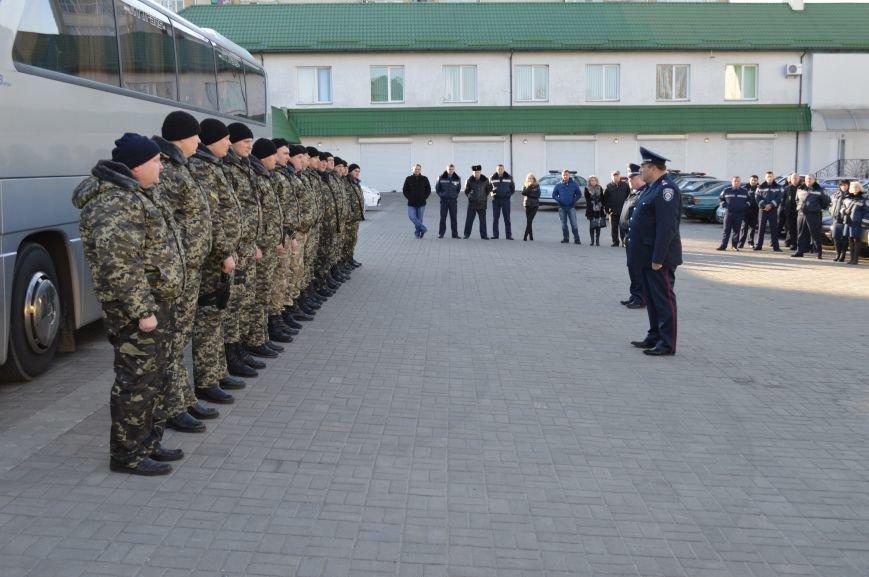 Рівненщина провела на схід України черговий загін працівників ДАІ, фото-2