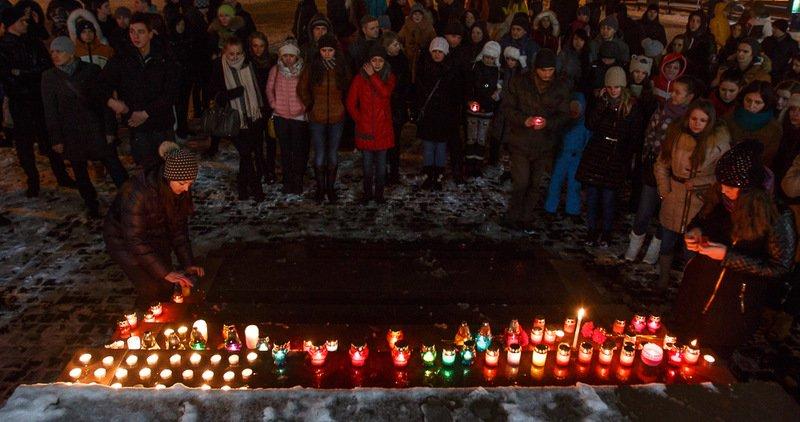 В Ужгороді вшанували пам'ять Кузьми Скрябіна (ФОТО, ВІДЕО), фото-10