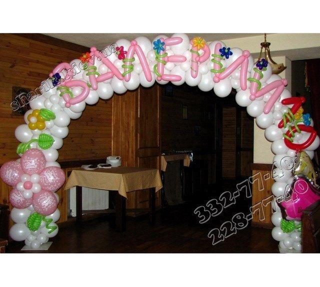 шары на день рождения width=
