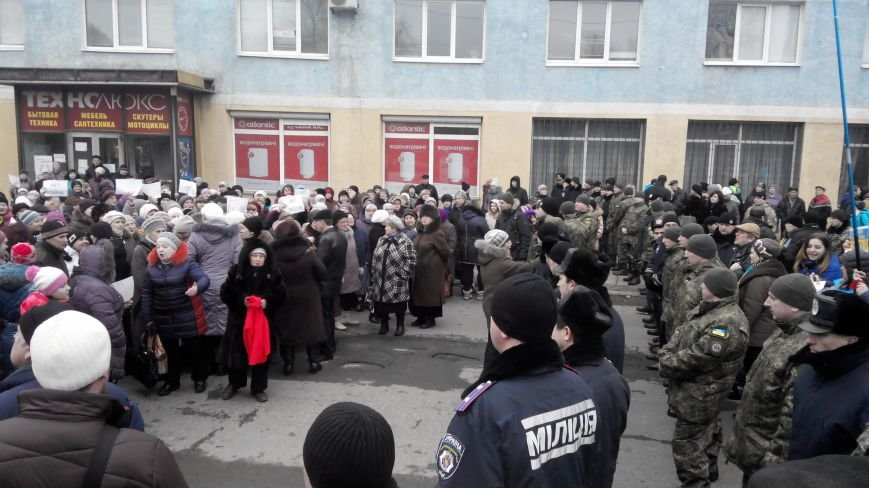 В Краматорске начался митинг против мобилизации: ФОТОРЕПОРТАЖ (ОБНОВЛЯЕТСЯ!) (фото) - фото 16