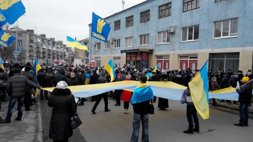В Краматорске начался митинг против мобилизации: ФОТОРЕПОРТАЖ (ОБНОВЛЯЕТСЯ!) (фото) - фото 21