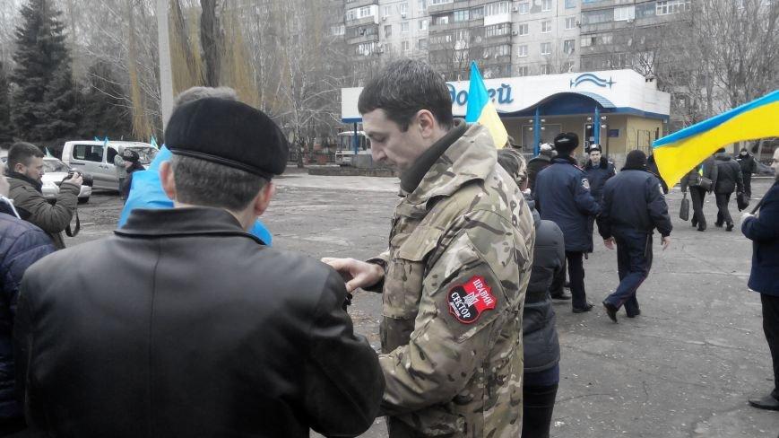 В Краматорске начался митинг против мобилизации: ФОТОРЕПОРТАЖ (ОБНОВЛЯЕТСЯ!) (фото) - фото 7