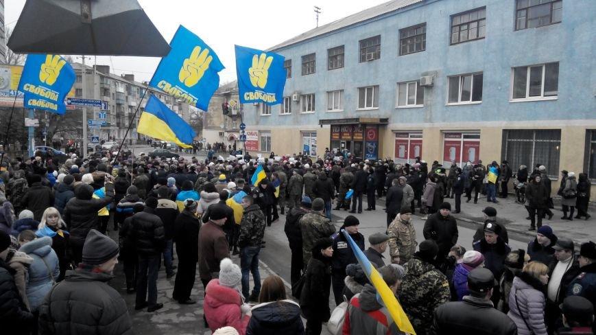 В Краматорске начался митинг против мобилизации: ФОТОРЕПОРТАЖ (ОБНОВЛЯЕТСЯ!) (фото) - фото 14
