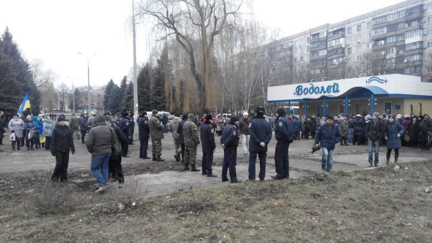 В Краматорске начался митинг против мобилизации: ФОТОРЕПОРТАЖ (ОБНОВЛЯЕТСЯ!) (фото) - фото 12