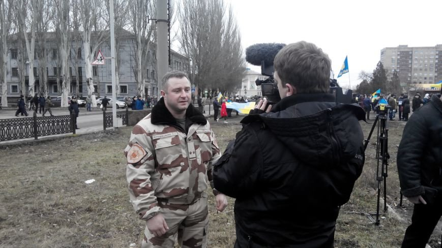 В Краматорске начался митинг против мобилизации: ФОТОРЕПОРТАЖ (ОБНОВЛЯЕТСЯ!) (фото) - фото 10