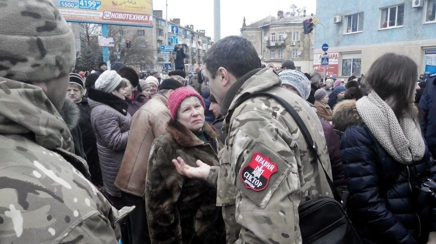 В Краматорске начался митинг против мобилизации: ФОТОРЕПОРТАЖ (ОБНОВЛЯЕТСЯ!) (фото) - фото 18