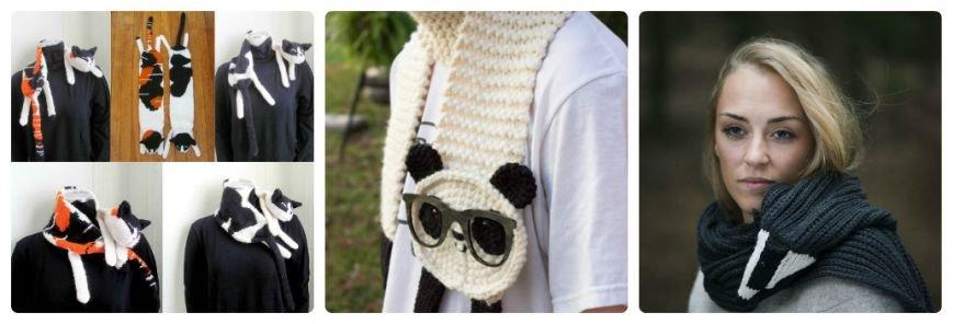 Уникальные шарфы (фото) (фото) - фото 1