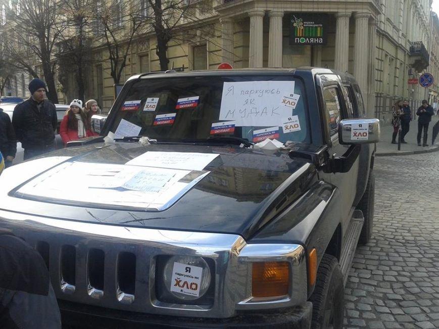 Я паркуюсь як окупант: небайдужі львів'яни викликали евакуатор, аби придбати з дороги «Хамер» (ФОТОРЕПОРТАЖ), фото-11