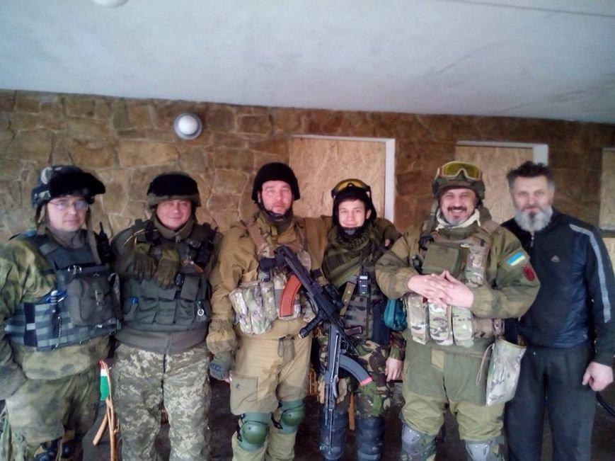 «Штаб нацзащиты Кривого Рога» вывез раненых бойцов из-под Песок и Артемовска (ФОТО), фото-4