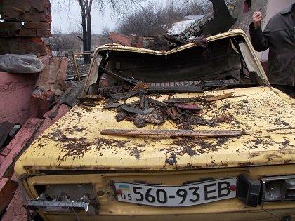 Многочисленные разрушения на Красной Горке, в Берестовке и селе Макеевка (фото) (фото) - фото 1