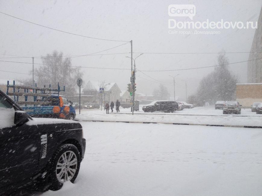 Подмосковное МЧС:  Сильный снегопад продлится в регионе до 21:00 (фото) - фото 1
