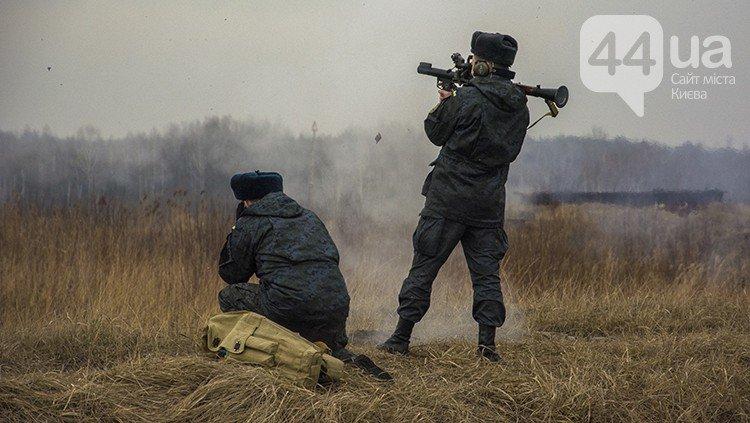Под Киевом прошли испытания новых оборонительных сооружений (фото) (фото) - фото 14