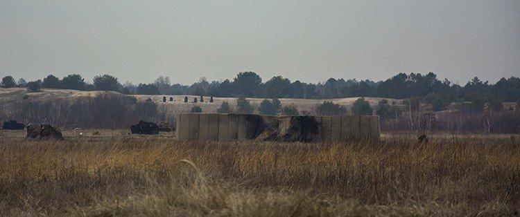 Под Киевом прошли испытания новых оборонительных сооружений (фото) (фото) - фото 13