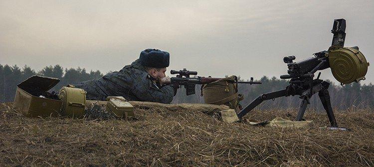 Под Киевом прошли испытания новых оборонительных сооружений (фото) (фото) - фото 12
