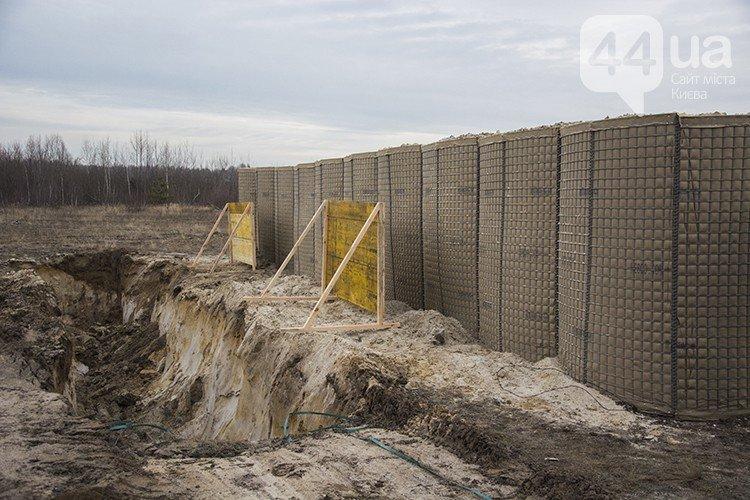 Под Киевом прошли испытания новых оборонительных сооружений (фото) (фото) - фото 8