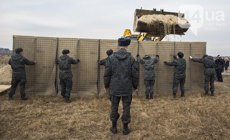 Под Киевом прошли испытания новых оборонительных сооружений (фото) (фото) - фото 10