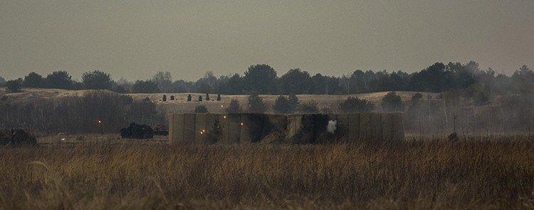 Под Киевом прошли испытания новых оборонительных сооружений (фото) (фото) - фото 15