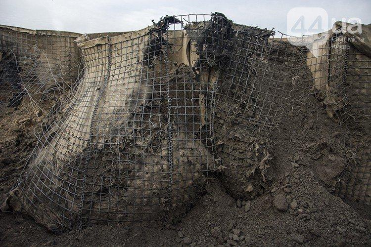 Под Киевом прошли испытания новых оборонительных сооружений (фото) (фото) - фото 17