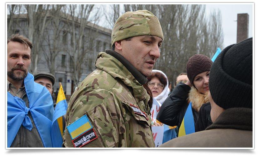 В Краматорске пикетируют военкомат противники мобилизации (фото) - фото 4