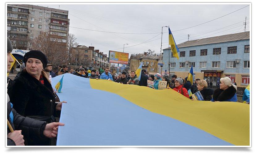 В Краматорске пикетируют военкомат противники мобилизации (фото) - фото 5