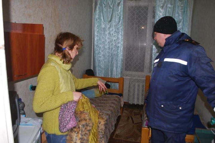 В Полтавской области работники ГСЧС встретили жителей Авдеевки (фото), фото-3