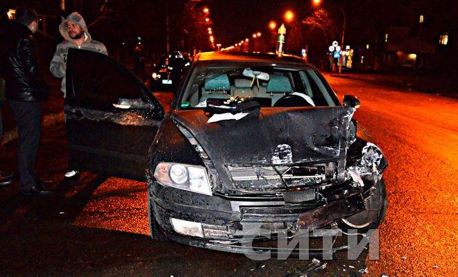 В Одесской области виновник ДТП удирал на трех колесах (ФОТО) (фото) - фото 1