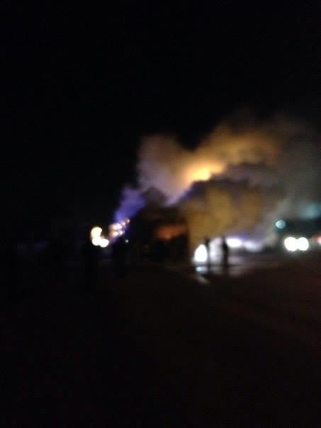 Пожежа поблизу заправки утворила на виїзді зі Львова тягучку (ФОТО), фото-2