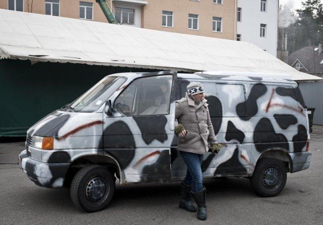 Перед загибеллю, Кузьма встиг відправити в АТО джип для бійців (ФОТОРЕПОРТАЖ), фото-2