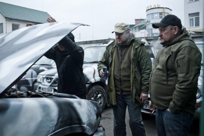 Перед загибеллю, Кузьма встиг відправити в АТО джип для бійців (ФОТОРЕПОРТАЖ), фото-10
