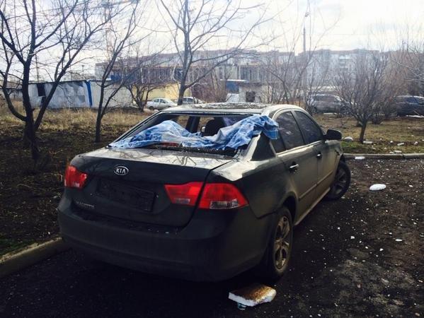 В Донецке Текстильщик попал под мощный артобстрел - снаряды попали в больницу и детсад (фото) - фото 1