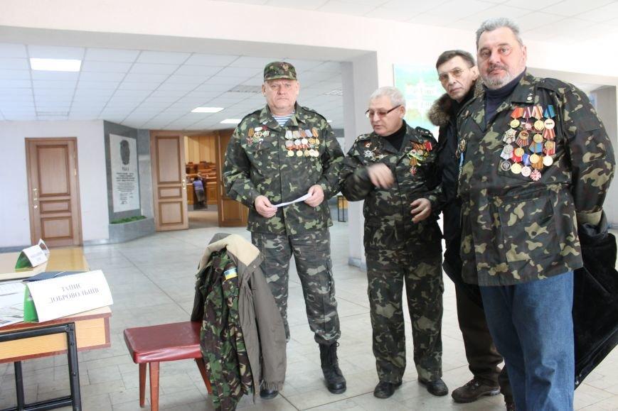 Военком выписал повестки заместителю мэра Фищенко и организатору акции под исполкомом Штефану (ФОТОФАКТ), фото-5