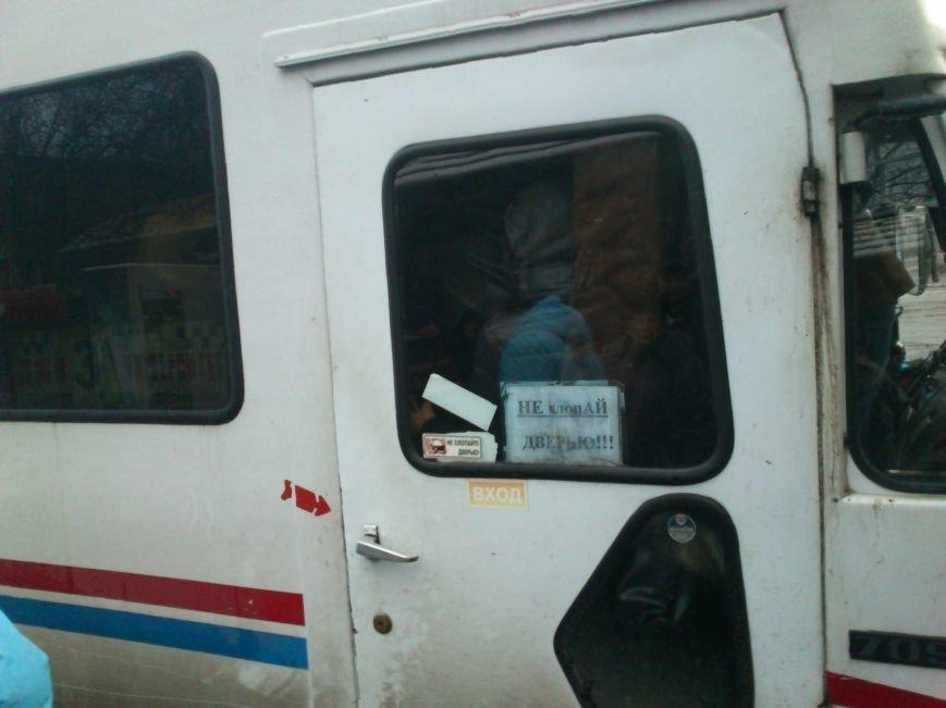 Днепродзержинские перевозчики не справляются с потоком людей, фото-4