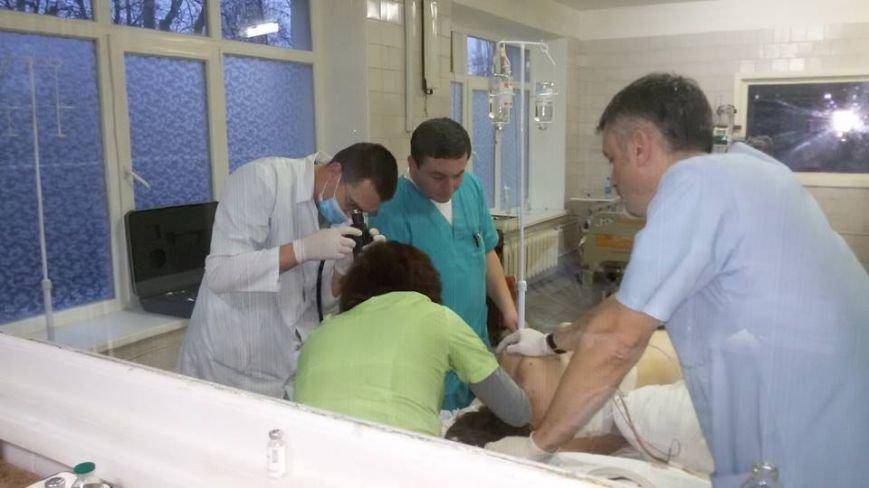 В одесской больнице из бойца вытащили огромный осколок снаряда (ФОТО) (фото) - фото 1