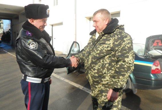 Одесские ГАИшники поехали защищать Родину (ФОТО) (фото) - фото 1