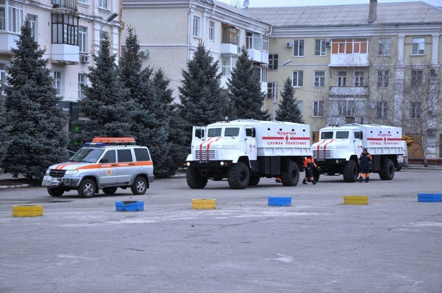 В Краматорск прибыли бронированные автомобили для вывоза людей из горячих точек Донбасса, фото-8