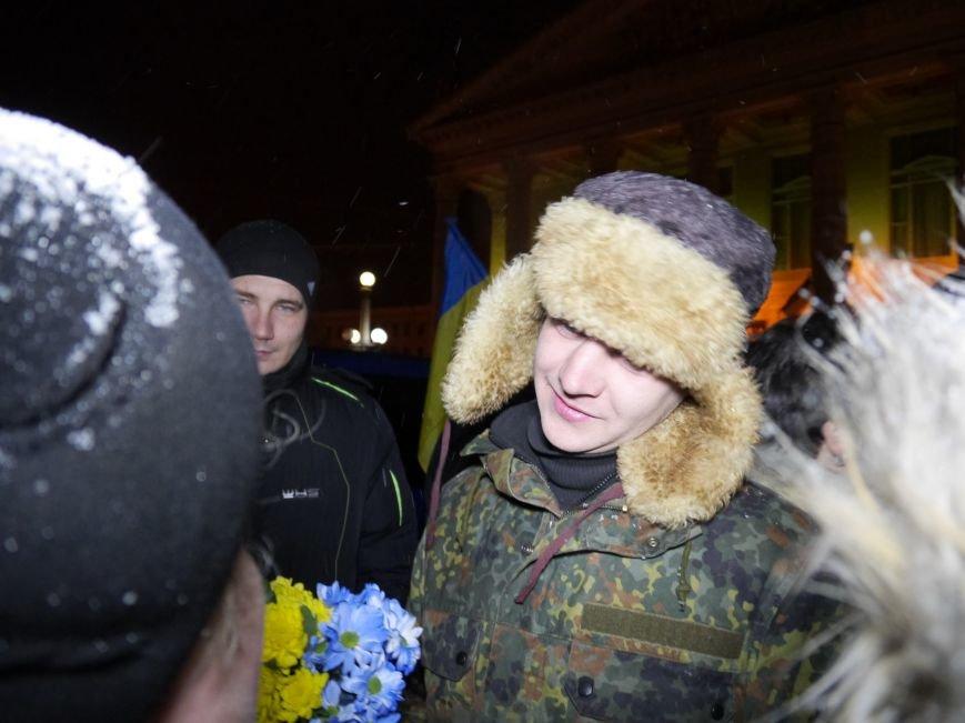 Тернопіль зустрів бійців 24-тої бригади, які повернулися із зони АТО (фото) - фото 1