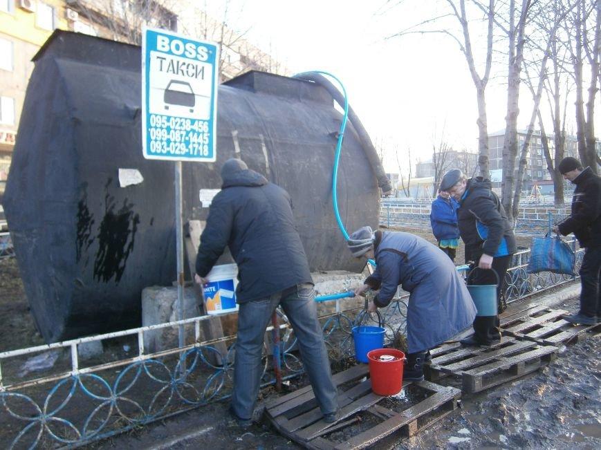 Ориентировочный график по подвозу воды в Димитрове (фото) - фото 3
