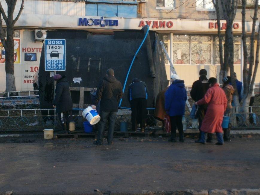Ориентировочный график по подвозу воды в Димитрове (фото) - фото 2