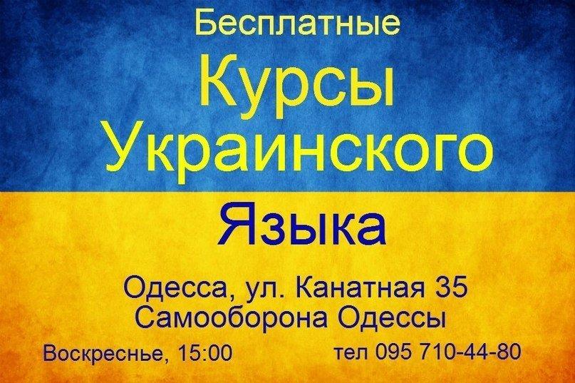 Добродушная украинизация: «Самооборона Одессы» открыла бесплатные курсы (фото) - фото 1