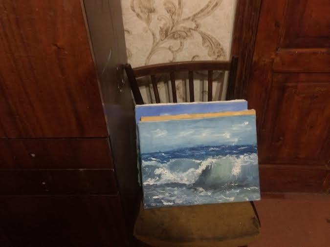 Юная мариупольчанка, справляется с пережитым на «Восточном», смотря на рисованное море( ФОТО) (фото) - фото 5