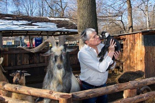 В одесском зоопарке родился очаровательный козленок (ФОТО) (фото) - фото 1