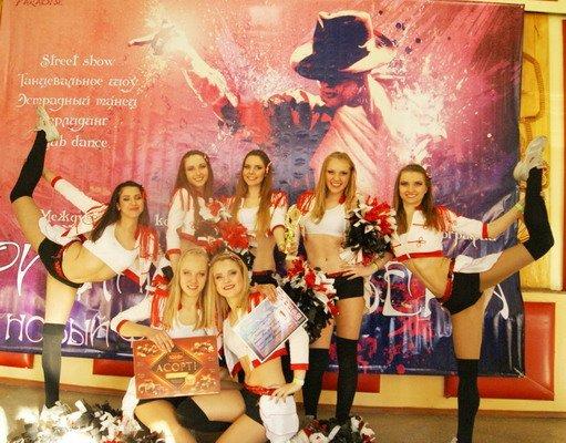 Гродненские девушки-чирлидеры заняли первое место в международном конкурсе (Фото, Видео, Обновлено), фото-1