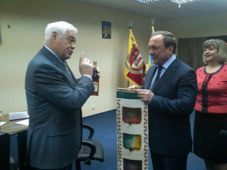 Днепродзержинск посетил Чрезвычайный и Полномочный посол Кыргызской республики, фото-7
