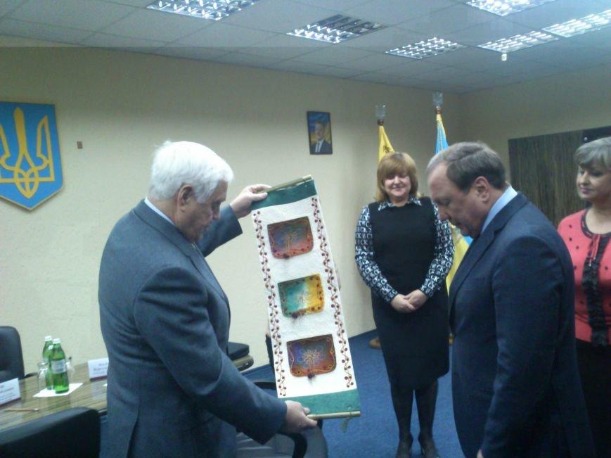 Днепродзержинск посетил Чрезвычайный и Полномочный посол Кыргызской республики, фото-5