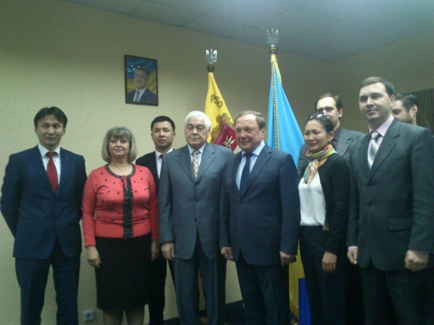 Днепродзержинск посетил Чрезвычайный и Полномочный посол Кыргызской республики, фото-9