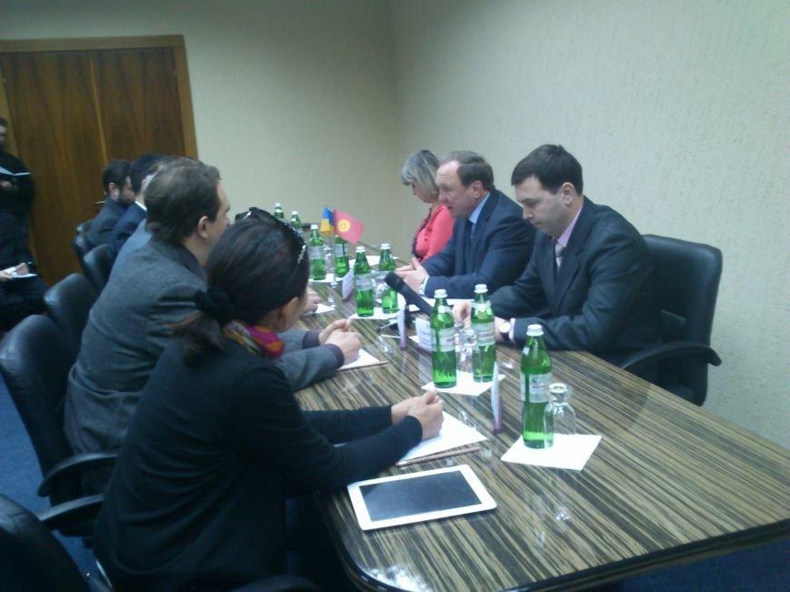 Днепродзержинск посетил Чрезвычайный и Полномочный посол Кыргызской республики, фото-2