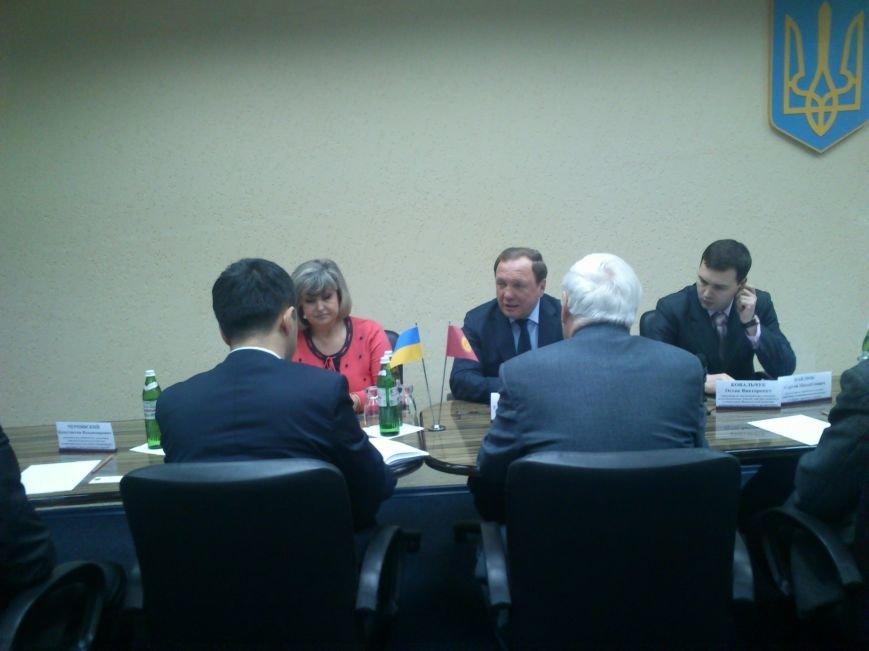 Днепродзержинск посетил Чрезвычайный и Полномочный посол Кыргызской республики, фото-4