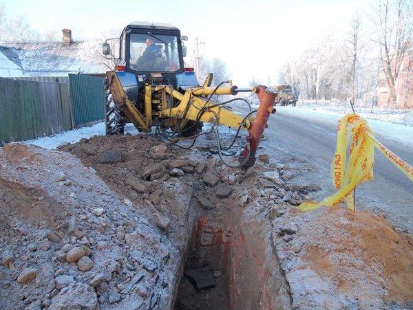 В Полоцке при проведении газопровода поврежден фундамент монастыря XII века, фото-1