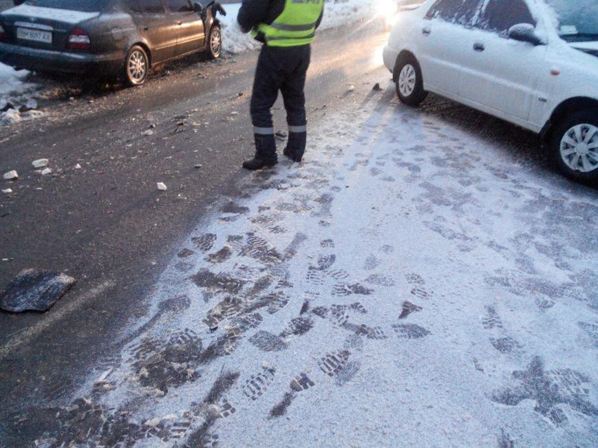 В Сумах на сколькой дороге произошла крупная авария (ФОТО) (фото) - фото 1